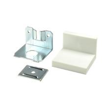 Уголок LS металл/пластик Белый