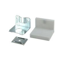 Уголок LS металл/пластик Серый