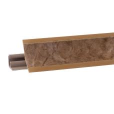 Бортик узкий Korner Аликанте коричневый 608 (акс. 654) 3 метра
