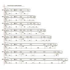 Направляющая L=550 1,2 мм LinkenSystem