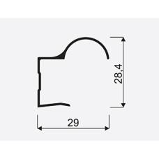 S Ручка Focus #18 бронза L=2700 мм