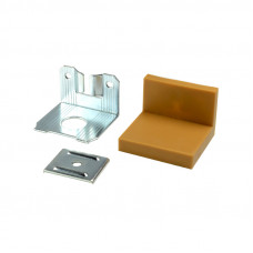 Уголок LS металл/пластик Бежевый (Бук)