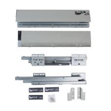 LS BOX LITE Push-Open L=400 H=94 Linken System серый