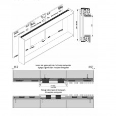 Комплект роликов для 3-й двери к системам M02 8220 SFT-M02 8250 SFT, Albatur