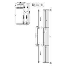 Комплект роликов для 3-й двери к системе M02 SRG 190, Albatur