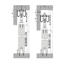 Комплект роликов для межкомнатной двери M20 7099, Albatur