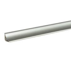 Бортик Korner LB-15 Алюминий сатин 611 (акс. 001) 3 метра