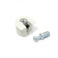 Стяжка R-Fix 16мм Белая+ зацеп Linken System