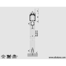 Комплект роликов для межкомнатной двери M20 9725 SFT, Albatur