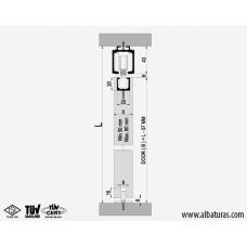 Комплект роликов для межкомнатной двери M20 9705, Albatur