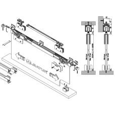 Комплект роликов для межкомнатной двери из стекла M23 9030 SFT, Albatur