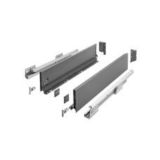 Выдвижная система AXIS PRO l-400 мм средний H116 Графит