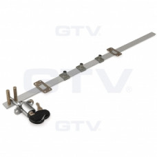 Замок GTV центральный - 288х500 Хром