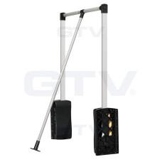Пантограф GTV с масляным подъемником 545-700мм до 8 кг Черный / Хром