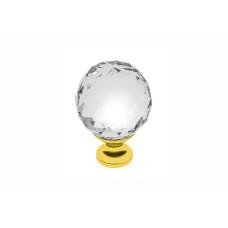 Ручка GTV Crystal Palace CRPA d 20 Золото + Стекло А