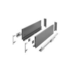 Выдвижная система AXIS PRO l-400 мм высокий H167 Графит