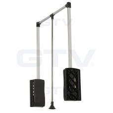 Пантограф GTV с газовым подъемником 875-1200мм до 12 кг Черный / Хром