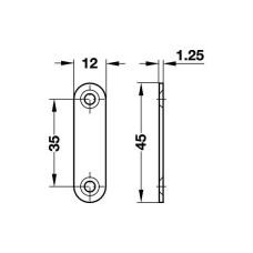 Фиксатор магнитный 3-4 кг белый