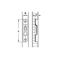 Стяжка MODULAR 63 х 11 мм сталь вороненная