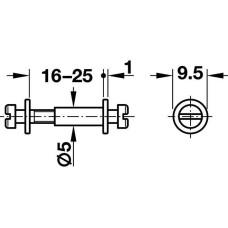 Шуруп MODULAR 18-21 мм оцинкованная сталь