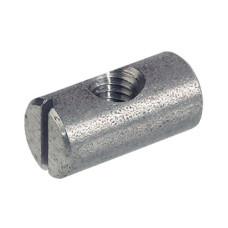Поперечный болт с резьбой М6 D10 х 14 мм центричный сталь