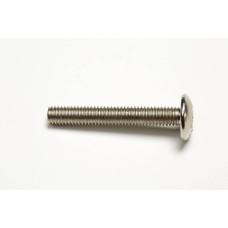 Соеденительный винт с резьбой сталь никелированный M6 x 40 мм d 8 мм