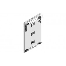 Направляющая SILENT-FOLD 40 нижняя алюминиевая света 2000х18х13.5 мм