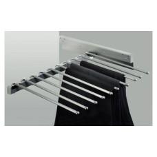 Держатель для 10 брюк, хромированный 465 х 505 х 100 мм