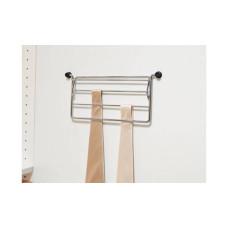Держатель для галстуков 320 х 160 х 25 мм никелированный