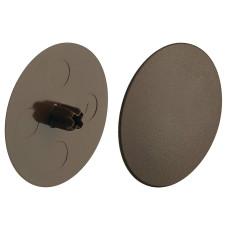 Заглушка для корпуса стяжки MAXIFIX E пластиковая коричневая D39 мм