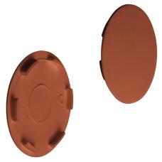 Заглушка для корпуса стяжки MAXIFIX пластиковая коричневая D39 мм