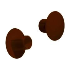 Заглушка пластиковая 5x10 мм RAL8007 коричневая