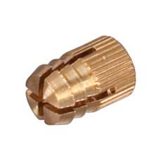 Распорная муфта М4 х 8 мм латунь