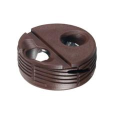 Корпус стяжки TOFIX для толщины плиты 18-25 мм пластик, коричневый