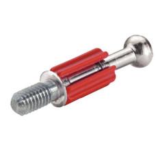 Болт стяжки MINIFIX S200 стальной без покрытия с пластиковым стержнем M6, D6.5 резьба7.5 мм