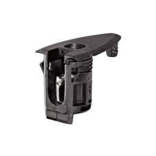 Корпус стяжки RAFIX HC со штифтом пластиковый черный D20 мм глубина сверления 22.5 8 мм