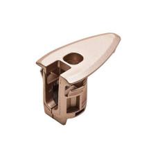 Корпус стяжки RAFIX HC со штифтом пластиковый никель D20 мм глубина сверления 22.5 8 мм