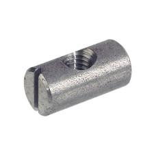 Поперечный болт М6, D10х20 мм эксцентричный, сталь