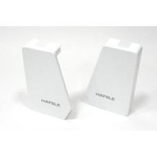 Заглушки к FREE FLAP 1.7 пластик белый
