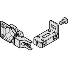 Петля SILENT-FOLD 40 направляющая нижняя внешняя стальная никелированная