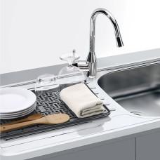 Сушилка для посуды с поддоном DR-04 GRAY