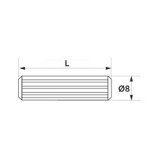 Шкант GIFF 8х30 (1000 шт)