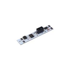 Бесконтактный оптический выключатель 86/4 IR для LED ленты (в профиль) прямой ON/OFF 12-20V 5A