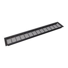Заглушка вентиляционная GIFF L480 H80 черный