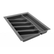Лоток для столовых приборов 32/76 Volpato 390х490 графит